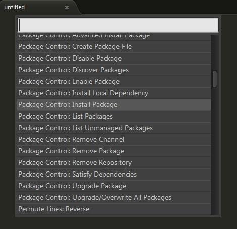 command-palette