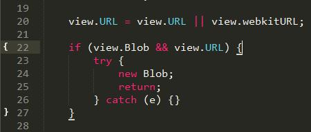 مشخص کننده براکت های کد در سابلایم