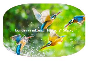 برش پس زمینه به دلیل وجود border-radius