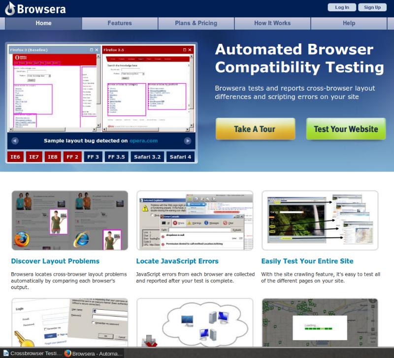 146243663405 Browsera 007 آزمایش پروژه در محیط های متنوع و گوناگون و مختلف