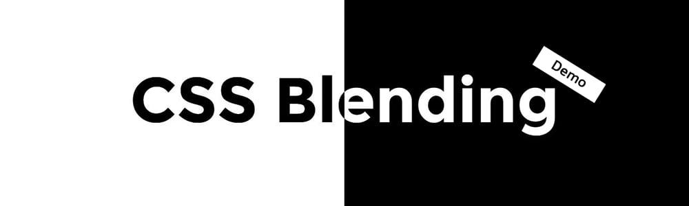 دموها و مثال هایی از blending در css