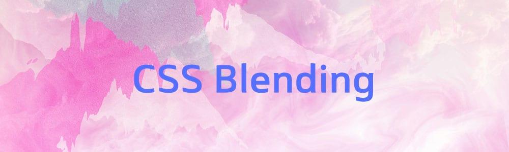 css-blending