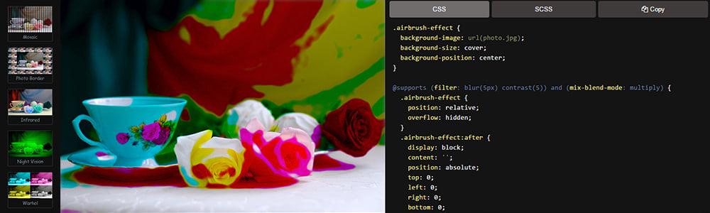 اعمال افکت بر روی تصاویر در CSS