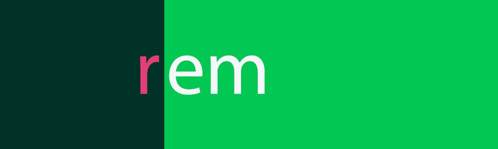 راهنمای کامل rem و em در css