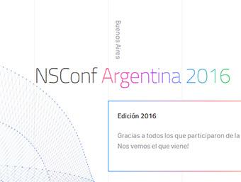 NSConf Argentina 2016