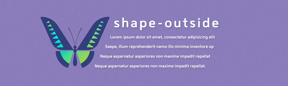 ویژگی shape-outside در سی اس اس