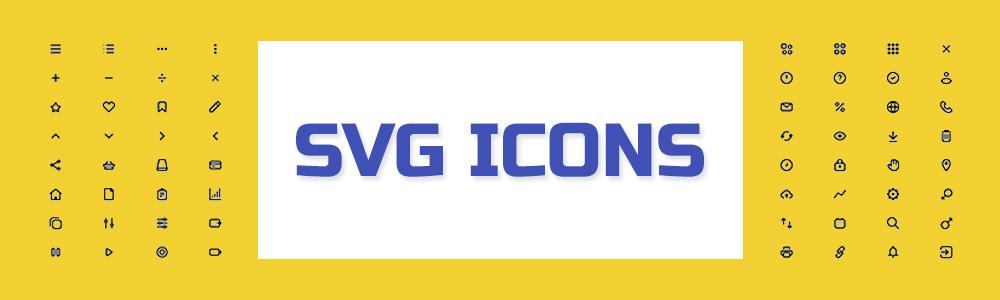 استفاده از SVG برای آیکون ها